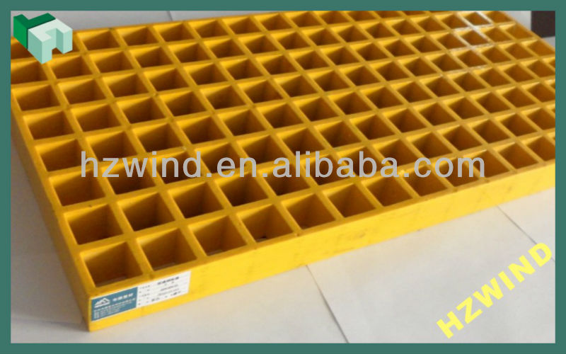 yellow anti corrosion high quality low price GRP grating