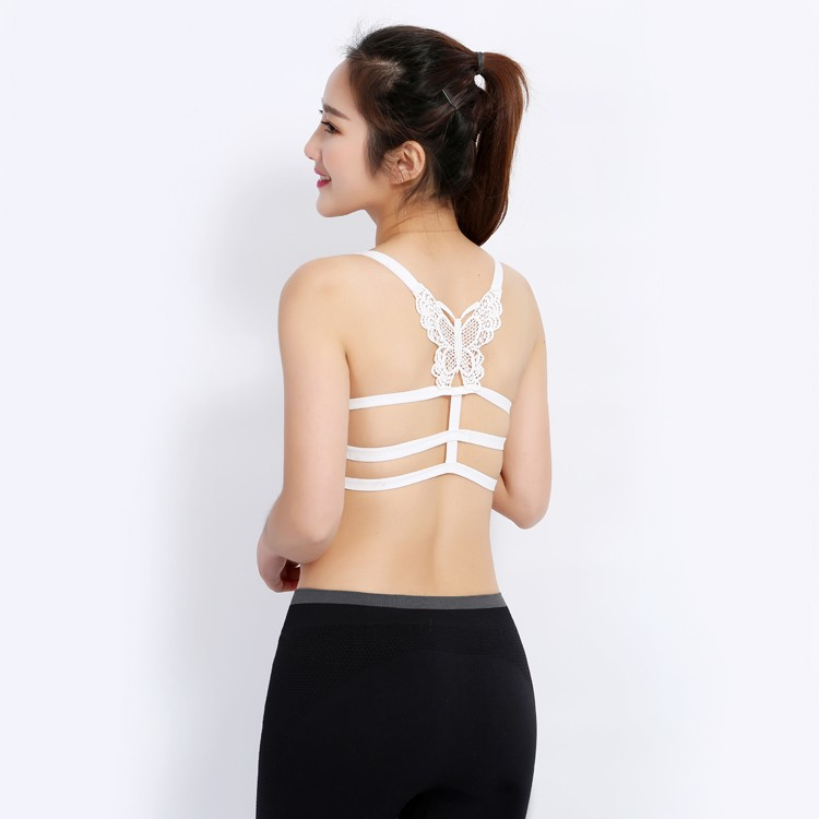 2018 Butterfly Y Type Sexy Beauty/beautiful Back Adjustable underwear Seamless Bra