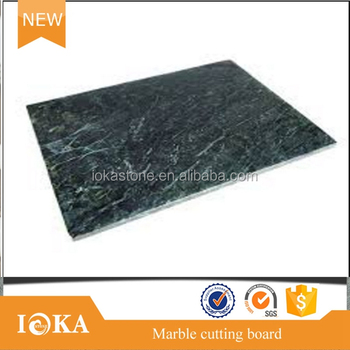 High Quality Green Marble Cheese Board Serving Try