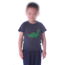 USB Athletic Shirt Funzionamento A Secco Stoppino Fit T Shirt Sport Quick Dry HA CONDOTTO LA Luce T-Shirt Per <span class=keywords><strong>Bambini</strong></span>