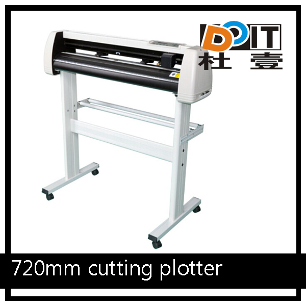 Do-it high quality vinyl 720mm cutting plotter,cutting plotter and printing,flatbed cutting plotte