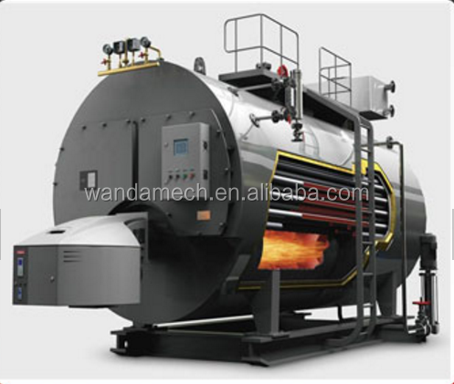 Industrial gas boiler machine
