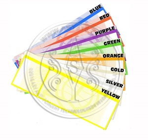 Custom design thermal paper event ticket , tourist sites entrance ticket, thermal flight ticket
