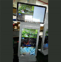 1250*2500*300 65 inch vertical touch advertising machine shell surface baking painting ehibition equipment shell