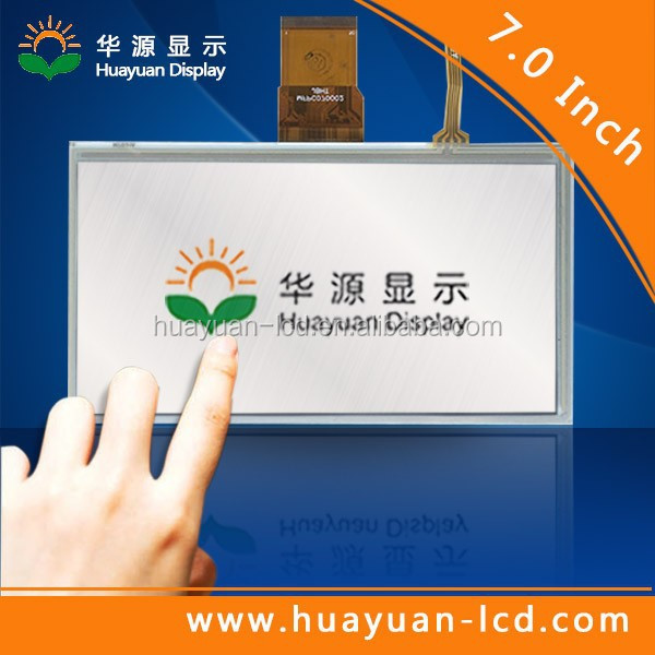 7 inch 800 x480 RGB lcd tft panel with touch panel USB/SPI/I2C interface