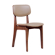 Modern Nordic style dining room furniture wooden side chair for restaurant