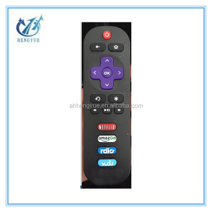 hot sell Remote Control For HISENSE for ROKU TV IR Streaming Media Player Remote Control LT HD XD XS