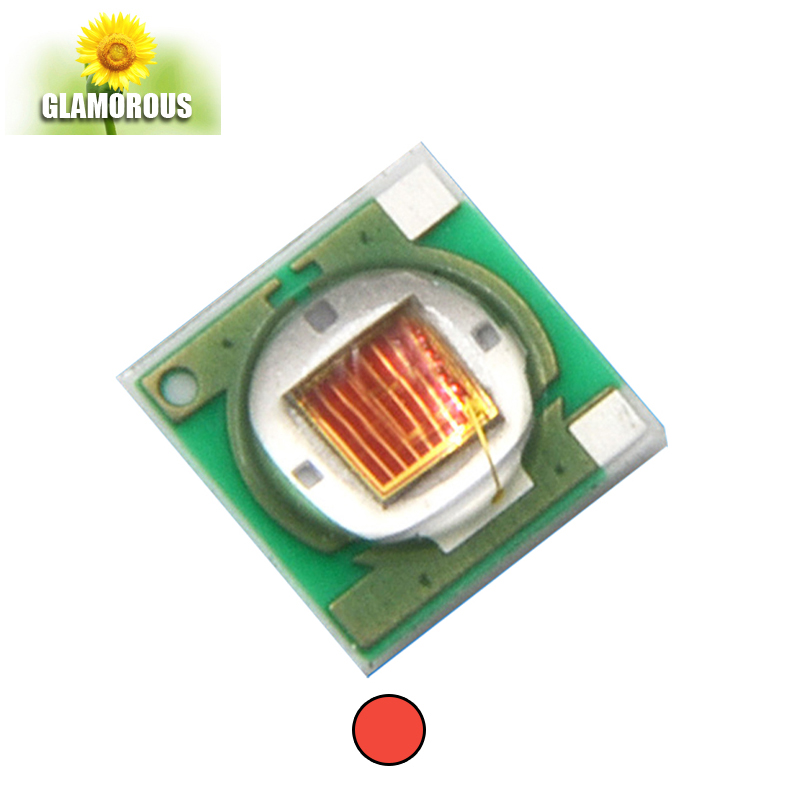 High power 3 w uv led smd 3535 led groeien licht chip