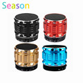 Portable Mini Bluetooth Speakers Metal Steel Wireless Smart Hands Free Speaker Support SD Card For Mobile