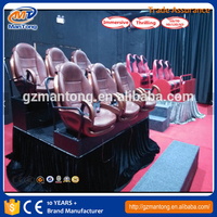 Home theater 5D, 7D cinema electric/hydraulic new immersive sense movies 8D VR