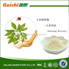 First class panax ginseng root extract 20% ginsenosides