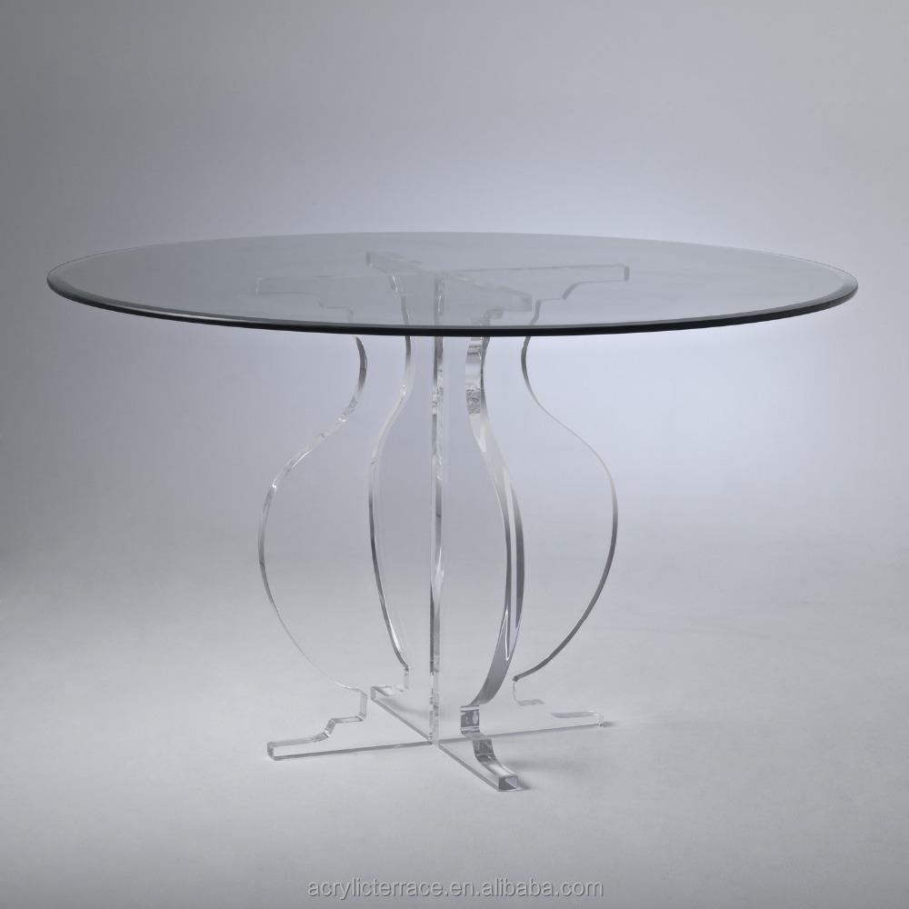 Clear Acrylic Dining Table Base Clear Acrylic Dining Table Base - Acrylic dining table