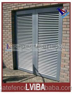 exterior louvered door & metal louver doors and aluminum louver door