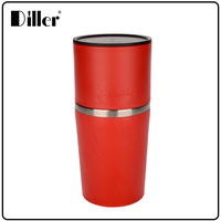 Protable coffee maker double wall stainless steel tumbler all in one coffee maker