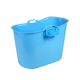 hot sale portable large ABS plastic whirlpool bathtub with bubble