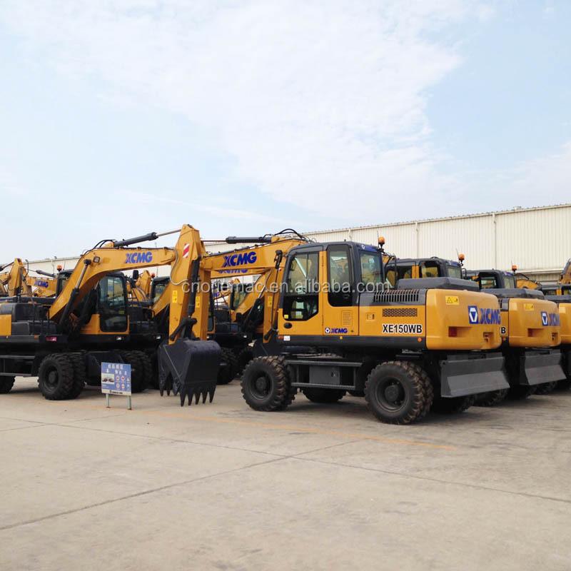 Used Mini Excavator Wheel Excavator Xe150wb Buy