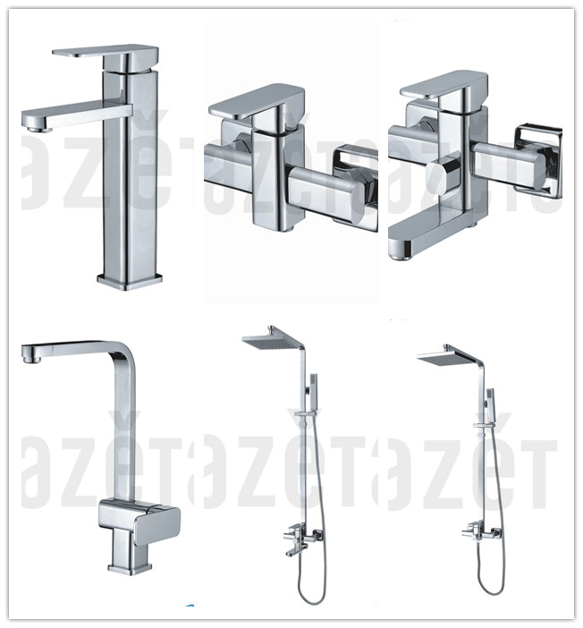 Zhejiang Manufacturer Single Handle Chrome Wash Basin Tap