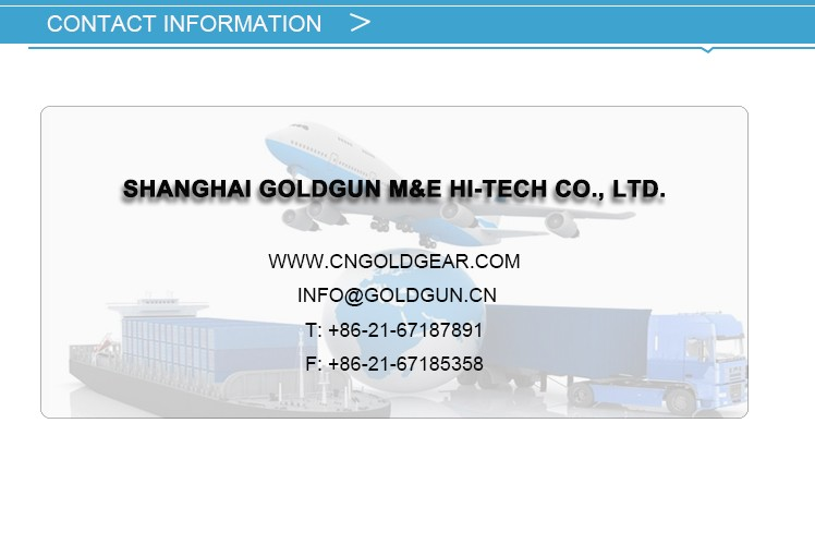 Shanghai Goldgun China manufacturer gearbox parts prices