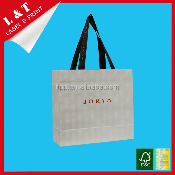 Fancy paper bags, shoulder bag, gift shopping bag