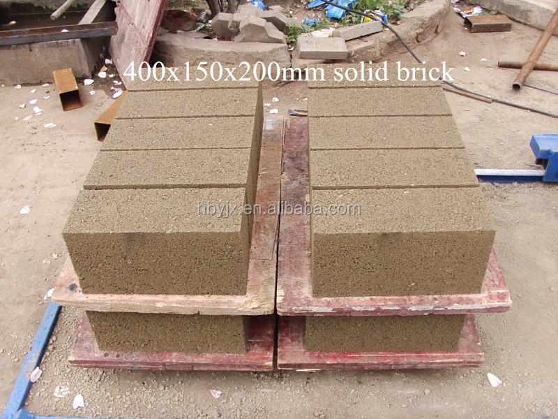 Cement Manufacturing Brick Machine Qtj4 25d Chb Machine