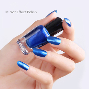Wholesale Shiny Design Non-toxic Healthy Private Label Soak Off Fast Drying Gel Mirror Effect Nail Polish