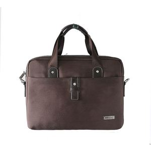 China Supplier Popular Style Genuine Leather Hand Bag Man Bag