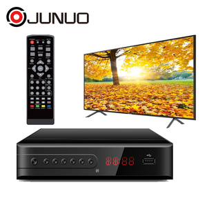 JUNUO HD 1080P decoder fta DVB-S2 Satellite receiver Support WiFi For  France and Chile