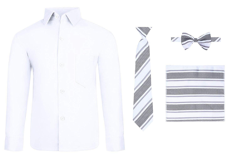 Sizes 3-10 Billybandit Boys Dress Shirt with Bow Tie