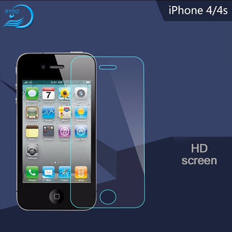 Fast Delivery Nano 9H Clear Protective Film For Iphone 4