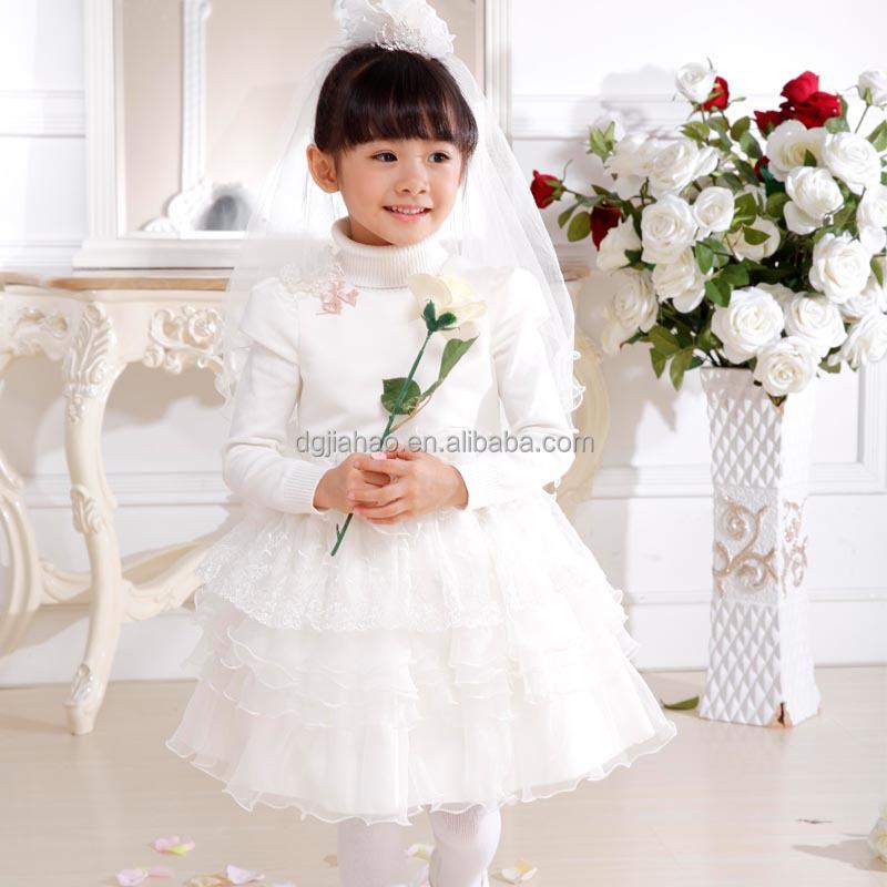 Newest 2017 Children Wedding Dress Little Bride