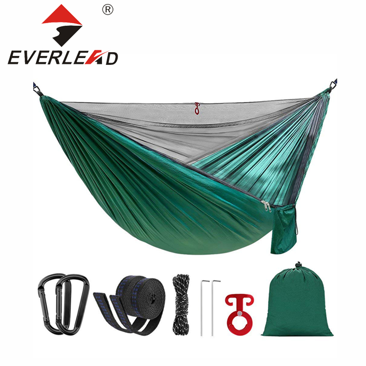 Außen Parachute Tragbare Nylon Moskito Net Camping Hängematte