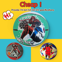 mini rubber 7# pu basketball customized, sport ball