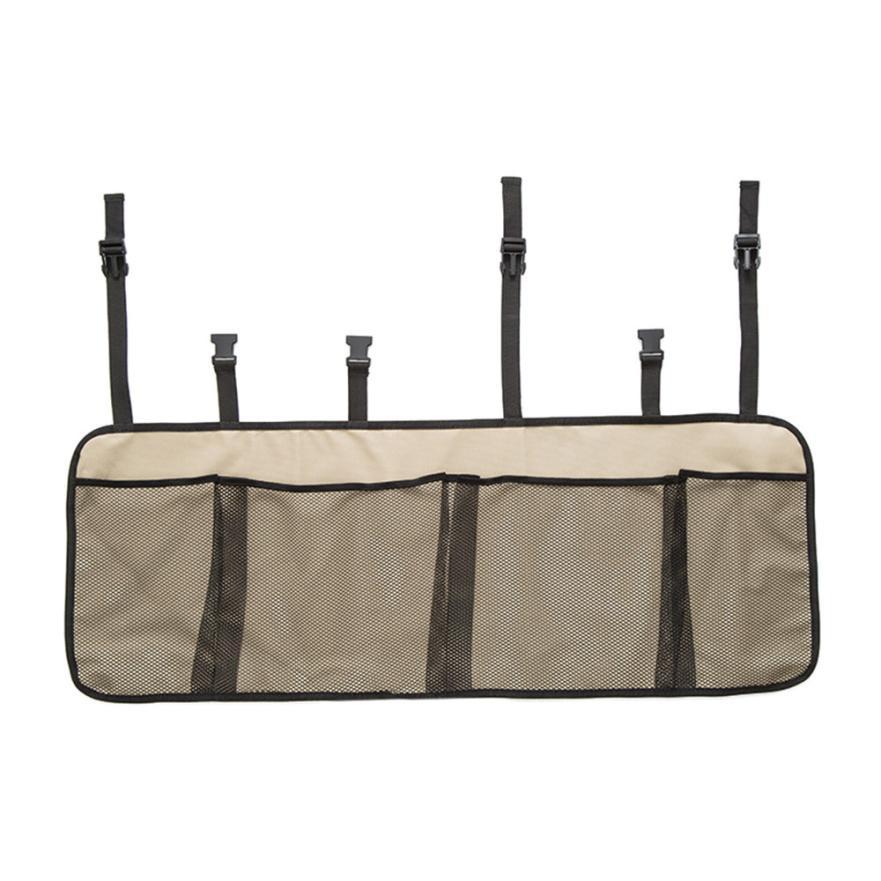 Сетка для автомобильного багажника, органайзер, сетка, спинка сиденья, для хранения грузов, продуктовый мешок, Новое поступление, сумка Dec 15(Китай)