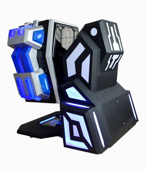 Arcade game machine 9d vr simulator king kong vr with free updated 9d games