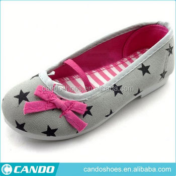 Ebay China Fashion Popular Flat Baby Girls Footwear