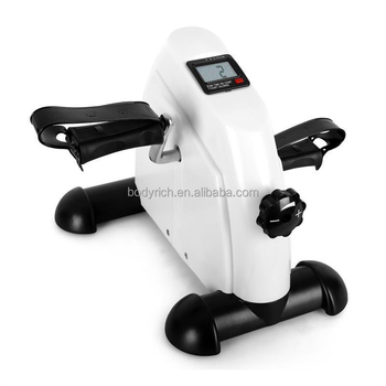 Under Desk Cycle Gym Workout Keep Fit Mini Exercise Bike /Pedal Exerciser