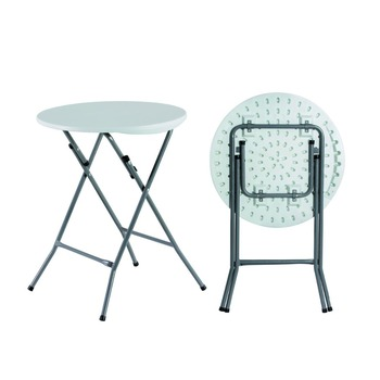 Soplado Cm Mesa Buy Product De Redonda Mesas On mesa 60 mesa Plástico Blanco Plegable Bar Plegable WCQrdoexB