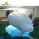 Hot sale inflatable led shell seashell model LED lighting float clam shell inflatable stage light shell for wedding decoration