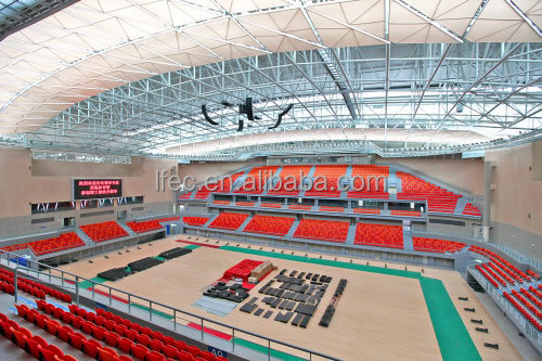 Buy cost effective good quality space frame prefabricated for Cost of building a gym