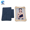 Factory OEM Luxurious Golden Heavy Duty Waterproof Shockproof silicone tablet case with flip cover stand for ipad mini 1 2 3