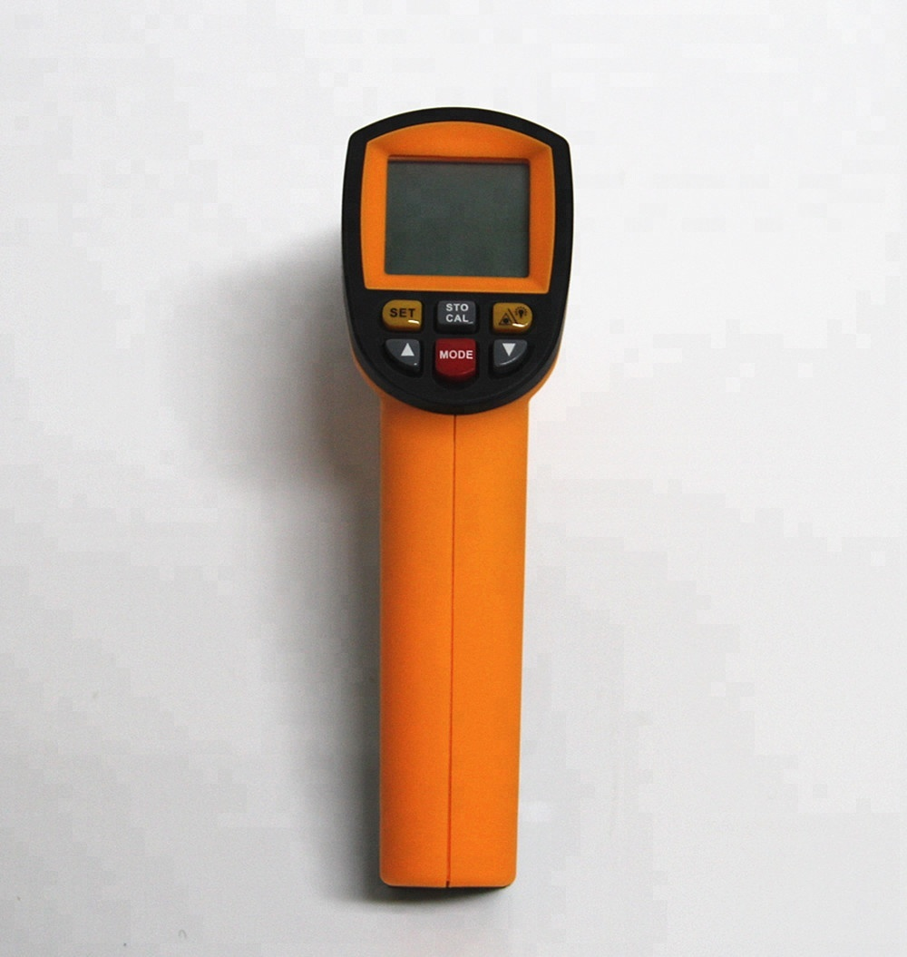 Temperature testing tools industrial -32 ~ 1150C High degree digital Infrared thermometer vehicle inspection tools - KingCare   KingCare.net