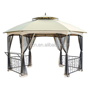 Steel Frame Tent With Tie-back Mosquito Netting 151\