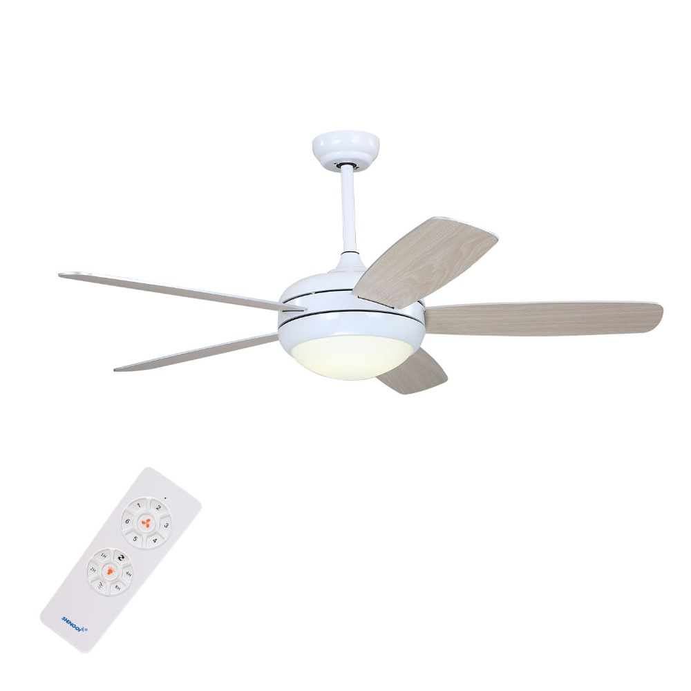 New Design Energy Saving 5 Blade 52 Inch White Ceiling Fan With ...