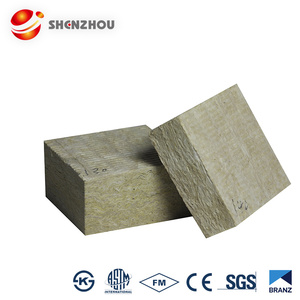 Surface material with aluminum foil thickness 50mm rock wool board insulation materials
