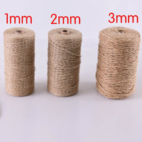 Customize multi size 100% jute twine hemp rope for packaging