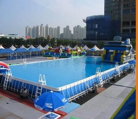 Attractions big plastic swimming pool buy inflatable - Piscina smontabile ...