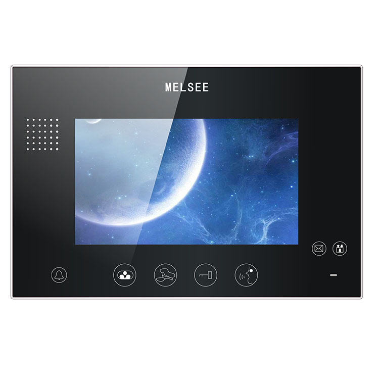 Security house wired video door phone intercom with camera for villa office home