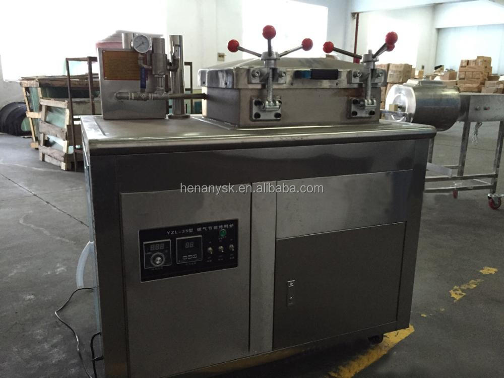 40L 30KG Vertical Electric Chicken Deep Fryers Machine Pressure Fryer Only Electric