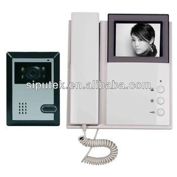 4- Fil Vidéophone Commax Téléphone De Porte,Prend En Charge 2 Unités ...