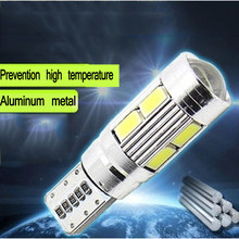 2015 Car LED T10 SMD Clearance  modulation 12v 5W Reading Light Meter Lamp Work Lamp with lens